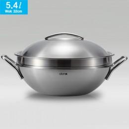 艾多美 316不鏽鋼炒鍋5.4公升